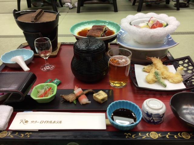 新年会 夕食