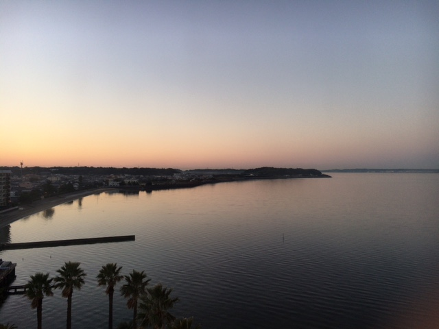 サゴーロイヤルホテルからの眺め