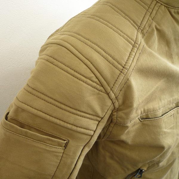 D1250 ストレッチジャケット肩