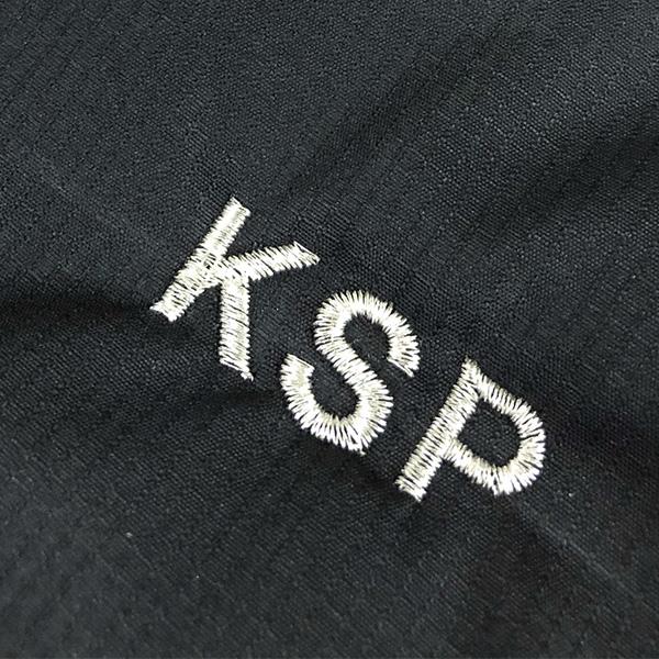 【ブラック×銀】BURTLE 防寒ジャケットの刺繍加工